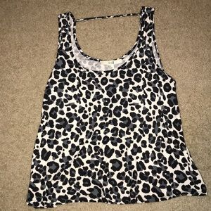 Forever 21 Cheetah Top